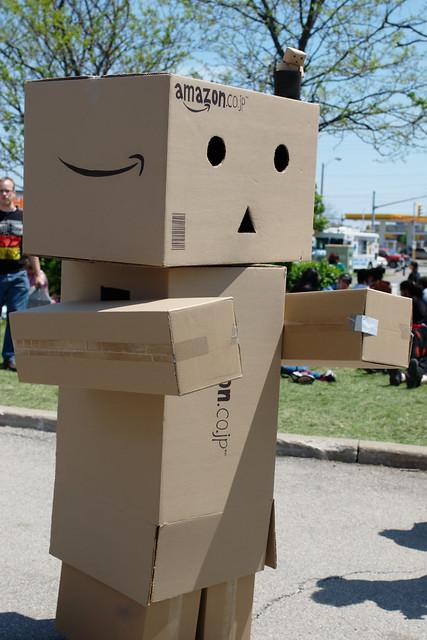 Danbo (Amazon Box Robot), From FlickrPhotos