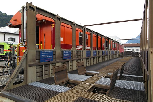 RhB Car shuttle train