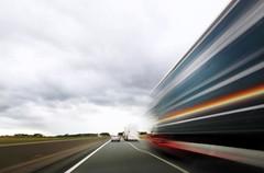 Playing Einstein. Nothing is real. (Cristian Ştefănescu) Tags: street speed truck highway long exposure driving autobahn rapid germania vitesse geschwindigkeit expunere viteză autostradă