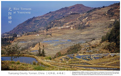 Rice Terraces in Yuanyang (rusamesame) Tags: china blue sky mountain heritage nature water field landscape photography scenery photographer rice terrace sony farmland unesco national  alpha   a7 slope geographic hani yuanyang redland redsoil duoyishu  hunnan   sonya7  instagram niuluopu