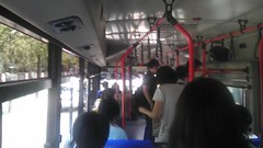 Buses had FREE wifi but the drivers were speedracers! They didn't wait for you to sit down before taking off. I saw this old lady get on the bus and literally RUN to a seat. She knew what time it was!