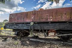 ET Stockade (darkday.) Tags: old urban water train rust track tank risk australian australia brisbane explore urbanexploration infiltration qld queensland aussie exploration hacking ipswich ue urbex queenslander