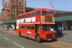 METROLINE RML2633 NML633E KINGS CROSS 180403 (David Beardmore) Tags: nml633e rml2633 aec prv lt associatedequipmentcompany routemaster parkroyalvehicles parkroyal doubledeckerbus londontransport metroline
