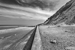 Sheringham (Nick J Stone) Tags: sea beach coast norfolk perspective front line division defence sheringham 4685