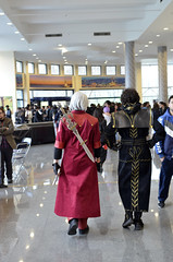 Cosplay friends at KONTAKT 4, Istanbul, 2014 (SpirosK photography) Tags: friends portrait turkey walking costume cosplay turkiye istanbul convention dmc constantinople devilmaycry costumeplay kontakt davutpasa τουρκία κωνσταντινούπολη yildiztekniküniversitesi yildiztechnicaluniversity kontakt4