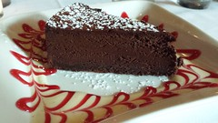 Chocolate mousse cake at Le Colonial