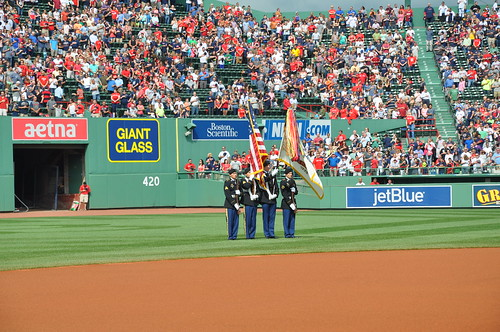 USARIEM presents Colors at Fenway on Army's 239th Birthday