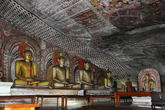 Dambulla - Thousands of Murals (Drriss & Marrionn) Tags: travel asia religion murals buddhism worldheritagesite temples srilanka ceylon hinduism dambulla southasia buddhatemples dambullarockcavetemple blinkagain bestofblinkwinners goldenrocktempleofdambulla