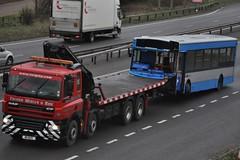 Trevor Wigley DAF CF85 M 11 BUS (truck_photos) Tags: