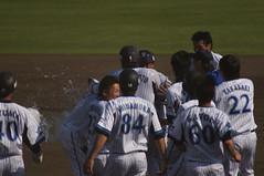DSC05275 (shi.k) Tags: 横浜ベイスターズ 140601 イースタンリーグ 平塚球場 サヨナラ勝ち
