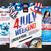 Independence Day Flyer Bundle, PSD Template