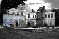 The Lady of Liepaja (Enrico Marcuzzi) Tags: streetart building abandoned graffiti latvia oldbuilding lettonia liepaja karosta ladyofliepaja