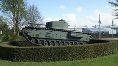 Churchil Crocodile at Bayex (Karel1999 Over a Million views ,many thanks) Tags: france tank churchill armour dday bayeux