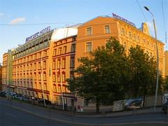 Mercure Hotel building in central Riga, Latvia. June 12, 2014 (Vadiroma) Tags: street city building architecture facade hotel europe capital baltic latvia accommodation lettland 2014 accor latvija baltikum mercurehotel