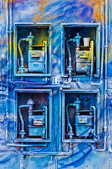 London City Art (david gutierrez [ www.davidgutierrez.co.uk ]) Tags: street uk blue urban abstract london art colors painting photography 50mm graffiti surreal structure symmetry shoreditch f18 cityoflondon davidgutierrez pentaxk5