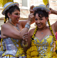 Carnaval San Francisco 2014 (Daluke) Tags: costumes beauty fashion canon models smiles hats parades carnaval braids