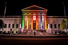 Minneapolis Institute of Arts (Doug Wallick) Tags: color art minnesota museum flag arts minneapolis pole institute pillars