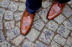 Gear for the day (roomman) Tags: wedding brown leather germany shoe office shoes cityhall gear down fujifilm bb rathaus hochzeit standesamt rhein berwick rheinland pfalz rlp koblenz mosel rheinlandpfalz 2014 blumenhof xt1 schängel hochzeitbegümbernd