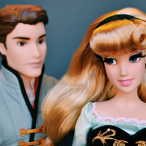 DFDC Briar Rose and Prince Phillip - Disney Store Blog