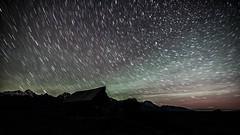 462 seconds star trails (Marvin Bredel) Tags: mountains night stars astrophotography wyoming teton jacksonhole milkyway grandtetonnationalpark jacksonwyoming marvinbredel