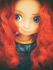Merida (BelladonaGarmog Doll's) Tags: girls portrait love girl photoshop toy toys photography bigeyes photo doll pretty dolls sweet disney collection figure disneystore mueca disneyprincess animators disneydoll disneypixar panasonicdmcgh2 belladonagarmog