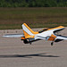 First in Flight RC Jet Rally 2014 - Lost its top!