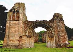 Bit of a ruin (Row 17) Tags: uk greatbritain england heritage abbey ruins shropshire unitedkingdom ruin medieval gb touristattraction ancientmonument historicsite englishheritage lilleshallabbey lilleshall heritagesite