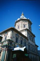 Peter & Paul Cathedral, Kazan, Russia (ChihPing) Tags: travel blue paul cathedral minolta kodak russia slide peter e100vs kazan tc1