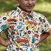 Little One Yard Wonders - Western Shirt