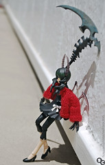Seeing Red (♪♮Sephora-Chan♮♪) Tags: black max anime rock dead toy japanese doll factory action grim reaper master figure shooter figurine yumi dm ova pvc scythe brs figma deadmaster shinoko