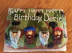 Duck Dynasty Cake by Whitney, Linn County, IA, www.birthdaycakes4free.com