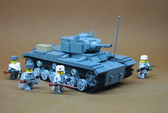 """Soviet KV-1s Heavy Tank (1) • <a style=""""font-size:0.8em;"""" href=""""https://www.flickr.com/photos/12426416@N00/14604498413/"""" target=""""_blank"""">View on Flickr</a>"""