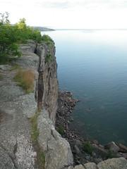 July 16 2014 Palisade Head 1 (s.kosoris) Tags: lake water rocks pentax superior lakesuperior palisadehead wg1 skosoris pentaxoptiowg1