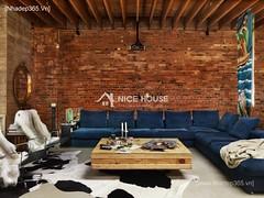 Thiết kế nội thất phòng khách tân cổ điển_011
