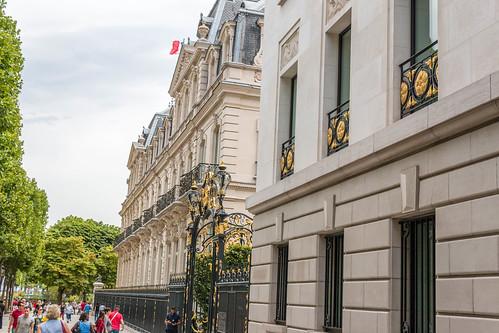 Immeuble Avenue des Champs-Elysées