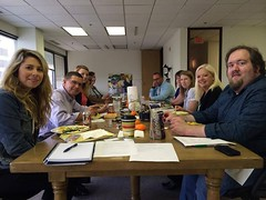 Power Meeting! Team Louisiana Film Prize and The Shreveport Times discuss how to make the Film and Music Prizes even more awesome...