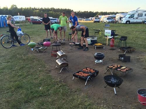 O-Ringen Camping: Grillplatz