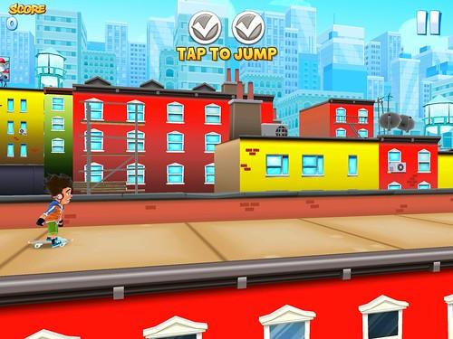 Skyline Skaters Tutorial: screenshots, UI