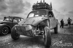 Rooflights (cgull123) Tags: santa vw bug pod rat beetle screen rod van split camper hdr raceway bugjam