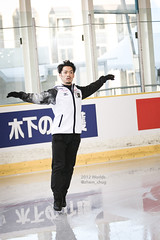 Daisuke TAKAHASHI (Margarita Voronkovskaya) Tags: 2012worlds worlds2012 figureskating iceskating
