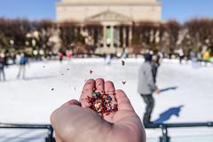 Fri-Yay! (AngelBeil) Tags: nationalgalleryofart nationalarchives washingtondc sculpturegarden iceskating confetti glitter makeawish