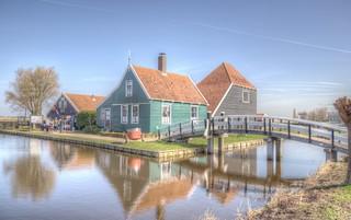 De vroege lente in Nederland