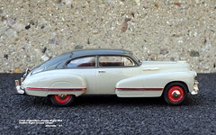 1942 Oldsmobile Ninety-Eight B44 Custom Eight Cruiser Coupe (JCarnutz) Tags: 143scale diecast whitemetal brooklin 1942 oldsmobile ninetyeight cruiser sedanette