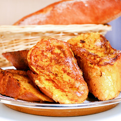 Pain Perdu : French Toast In The French Style. (mitantighosh) Tags: food blog frenchfood dessert blogger french baguette bread sweet eggs frenchtoast toast