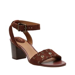"Clarks Ralene Sheen sandal dark tan • <a style=""font-size:0.8em;"" href=""http://www.flickr.com/photos/65413117@N03/32795792063/"" target=""_blank"">View on Flickr</a>"