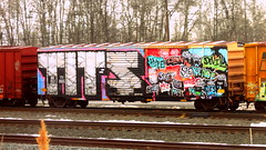 BKTY 152965 (timetomakethepasta) Tags: tits crew bkty boxcar freight train graffiti art wholecar benching selkirk new york photography