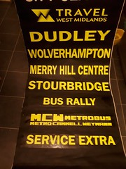 Some more blind stuff (because_stickers) Tags: west midlands travel wmt wmbuses wmbus mcw metrobus mk2a wolverhampton merry hill centre dudley stourbridge coventry wmpte preserved bus twm
