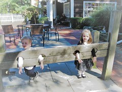 KEEPING THE GRANDKIDS OUT OF TROUBLE (Visual Images1) Tags: grandkids angeline stanley milleridgeinn stocks 2011