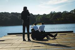 _DSC4401 (Tiến Long) Tags: teamwork couple sun lake woodenbrige behind sence jungle pinetree pine sunshine