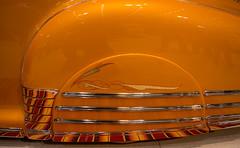 Skirt (maberto) Tags: autorama calexpo carshow d7200 lowrider nikon sacramento hotrod ©bradmaberto orange pinstripe fender